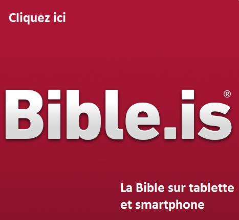 La Bible pour tablette et smartphone